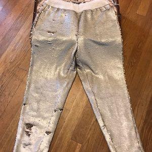 Anthropologie Pants - Anthropologie Hei Hei Sequin Joggers